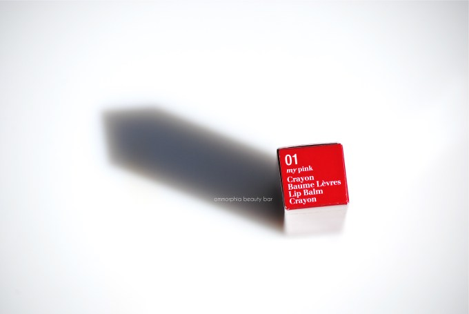 Clarins Lip Balm Crayon label