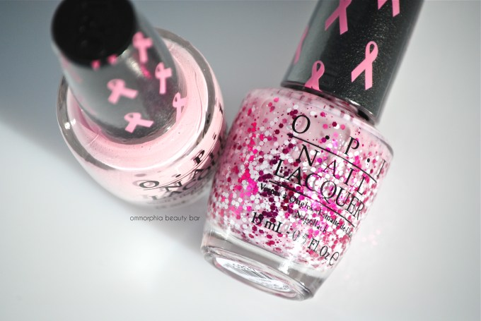 OPI Pink of Hearts 2014 macro