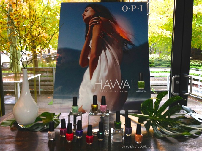 OPI Hawaii event opener