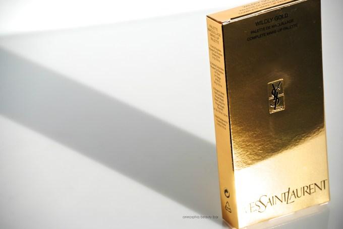 YSL Wildly Gold Palette box