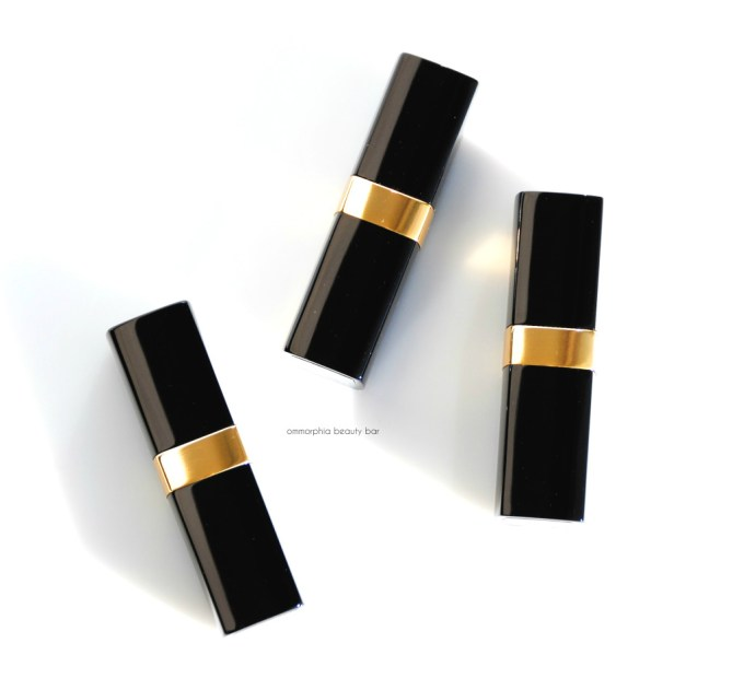 CHANEL Rouge Coco trio tubes