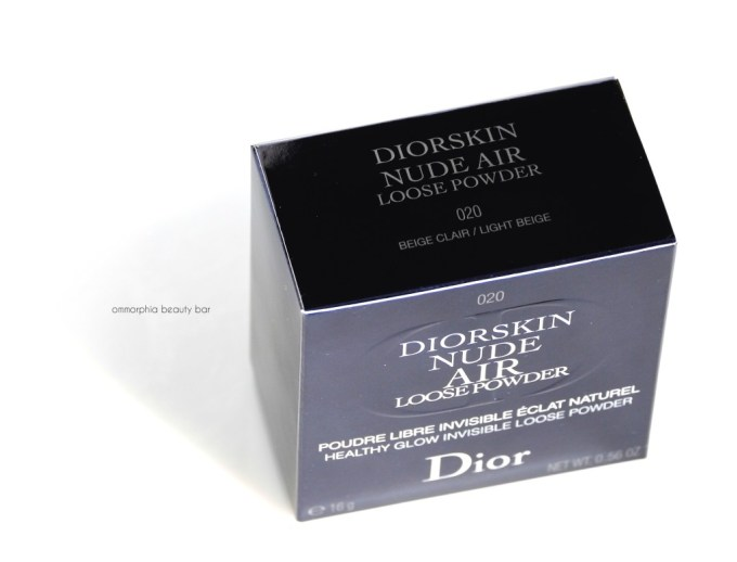Dior Nude Air Loose Powder box
