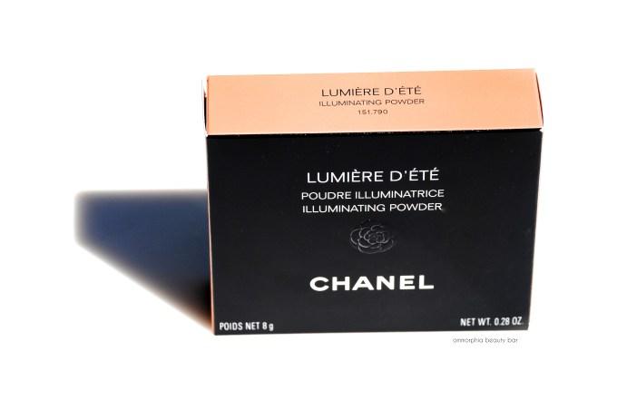 CHANEL Lumière d'Été packaging