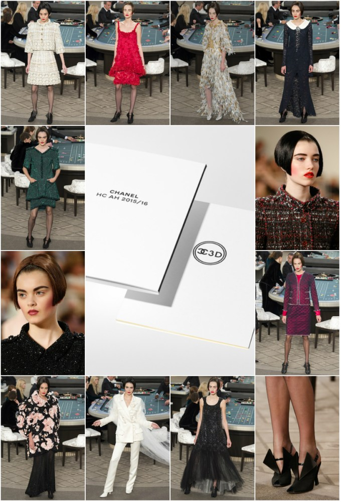 CHANEL Haute Couture AW 2015 opener
