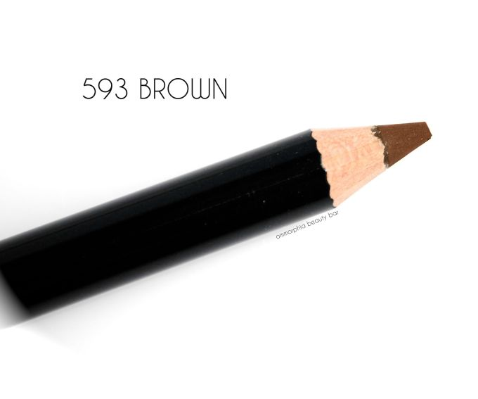 Dior 593 Brown Powder Eyebrow Pencil