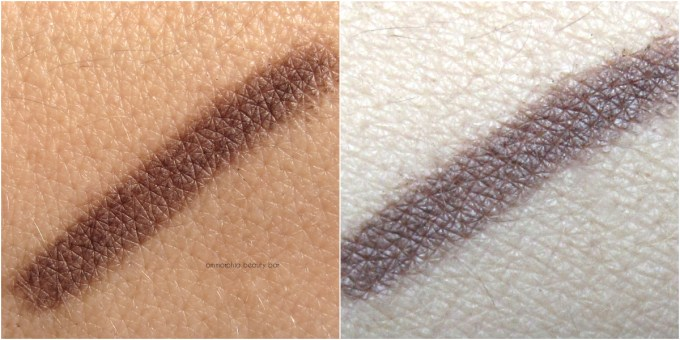 Dior 693 Dark Brown Powder Eyebrow Pencil swatches