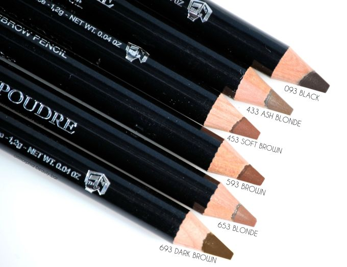 Dior Powder Eyebrow Pencils macro