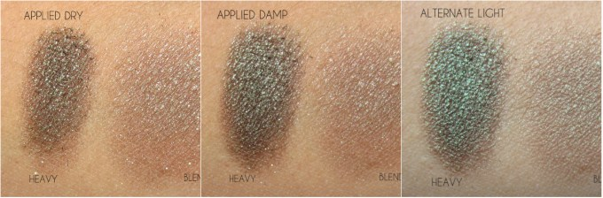NARS Pasiphae swatches triptych