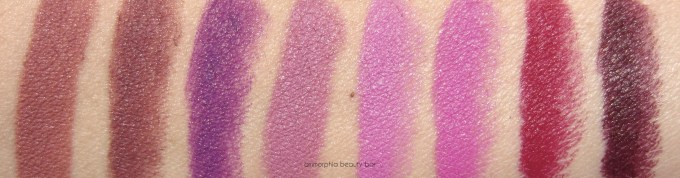 Maybelline Creamy Mattes Fall 2015 swatch 1