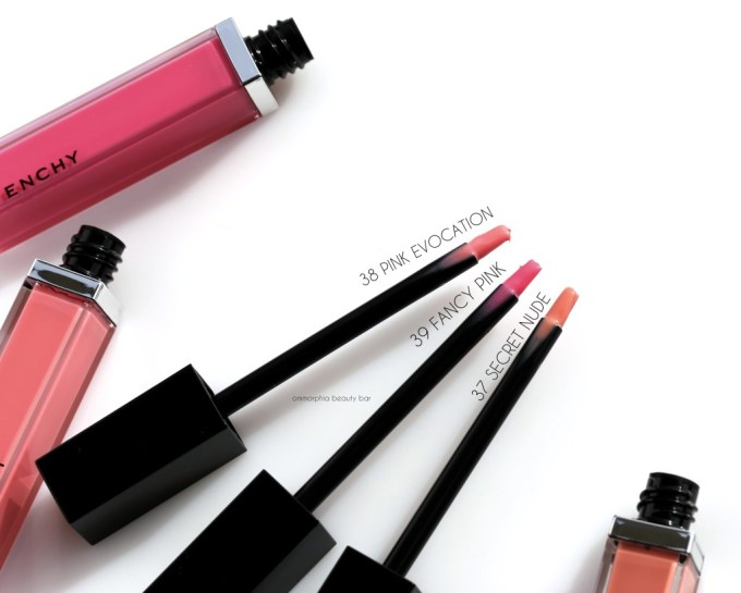 Givenchy Gloss Interdit brushes