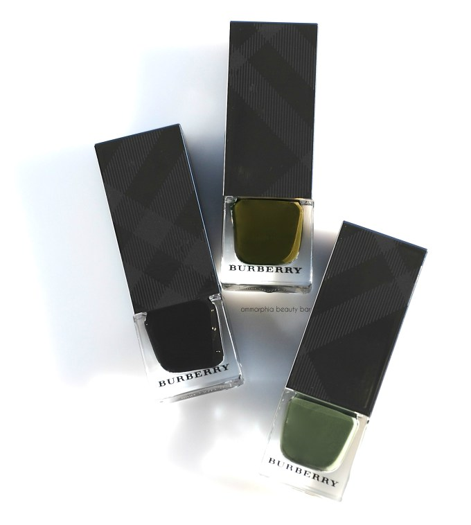 Burberry Fall polishes opener