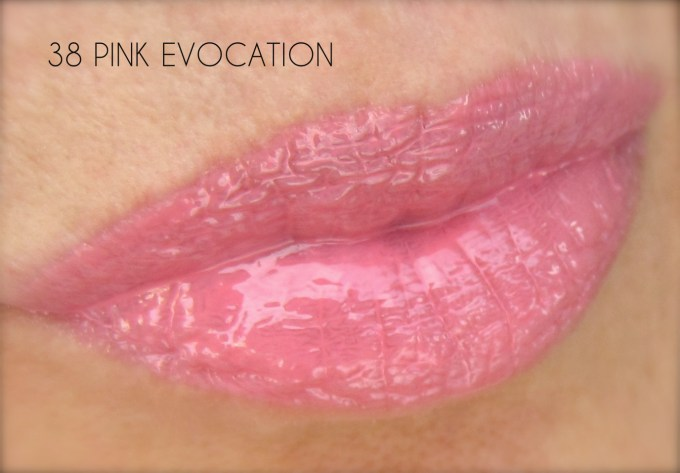 Givenchy Gloss Interdit pink Evocation swatch