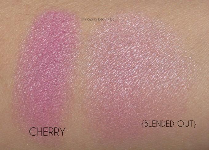 UD Gwen Stefani Blush Palette Cherry swatches