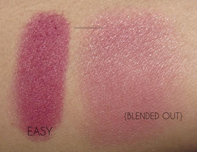 UD Gwen Stefani Blush Palette Easy swatches
