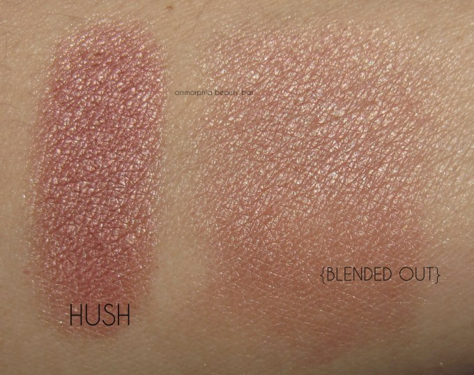 UD Gwen Stefani Blush Palette Hush swatches