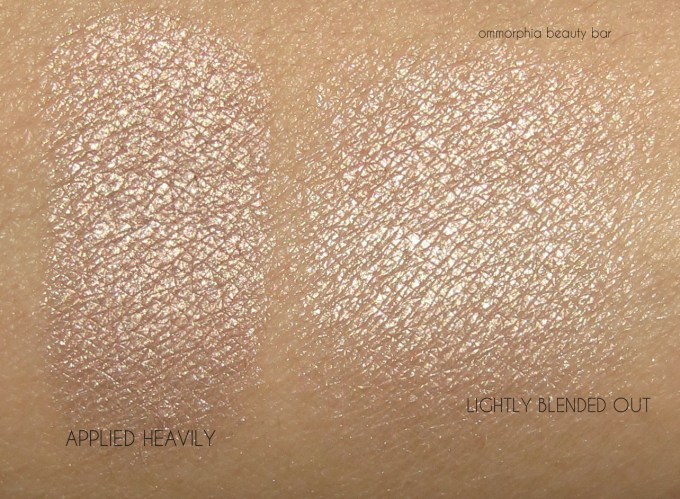 UD Sin Afterglow Highlighter swatches