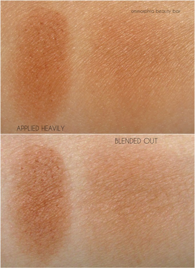 YSL Fire Opal Bronzing Stones swatches