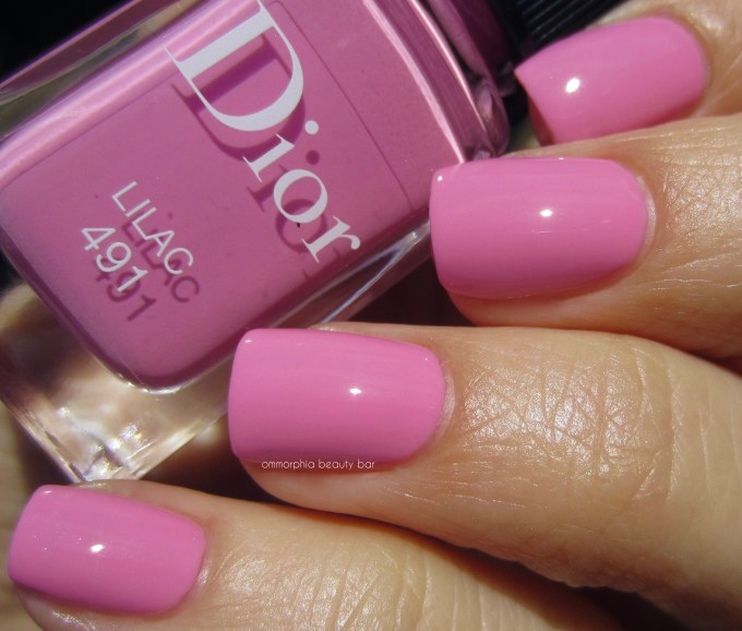 Dior Lilac swatch 2