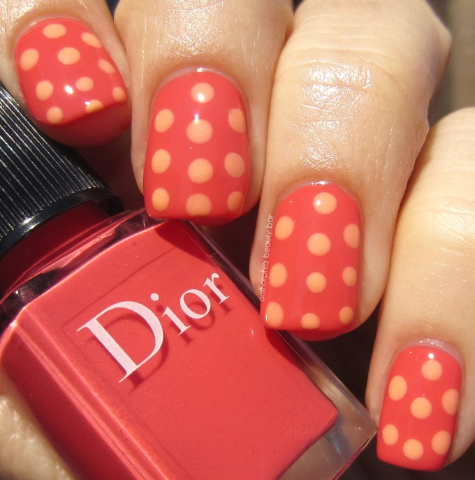 Dior Summer 2016 Confettis 652 with dots swatch