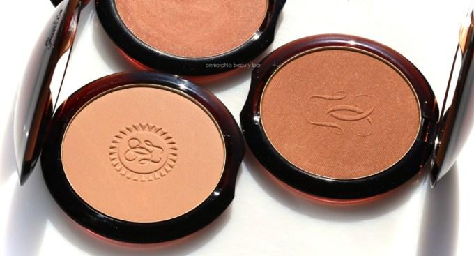 Guerlain Terracotta Light Brunettes bronzer logo comps