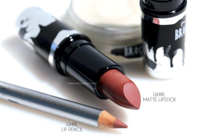 MAC Brooke Candy Whirl lipstick & lip pencil