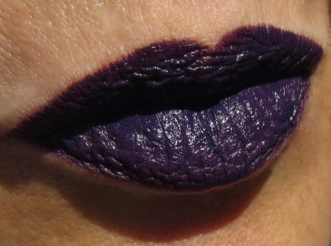 MAC Brooke Candy Witching Hour swatch 2
