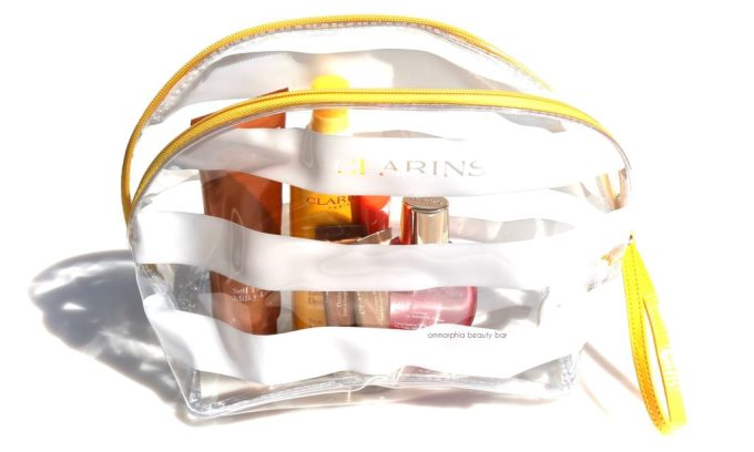 Clarins Summer 2016 with bag