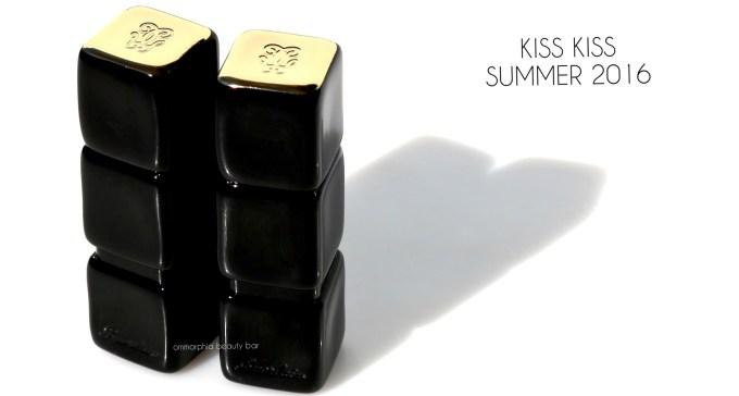 Guerlain Kiss Kiss Summer 2016