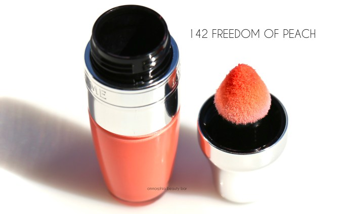 Lancome Freedom of Peach Juicy Shaker