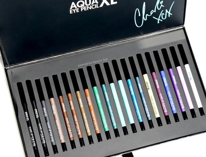 MUFE Aqua XL pencils