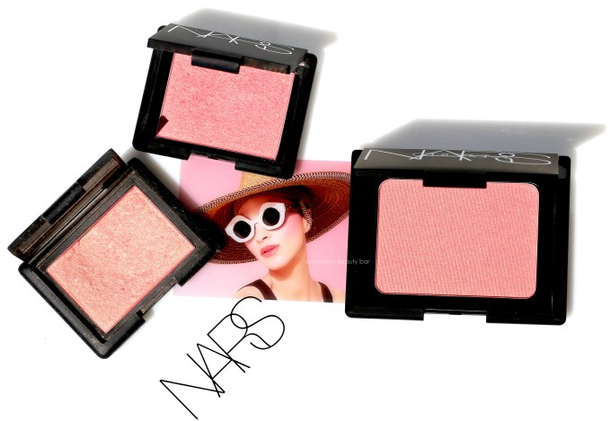 NARS LE Orgasm Blush & comps