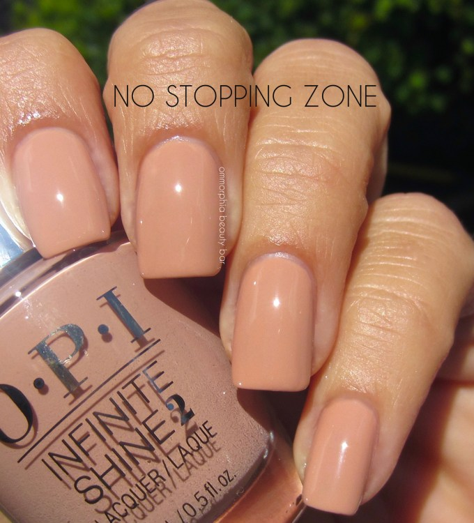 OPI No Stopping Zone swatch