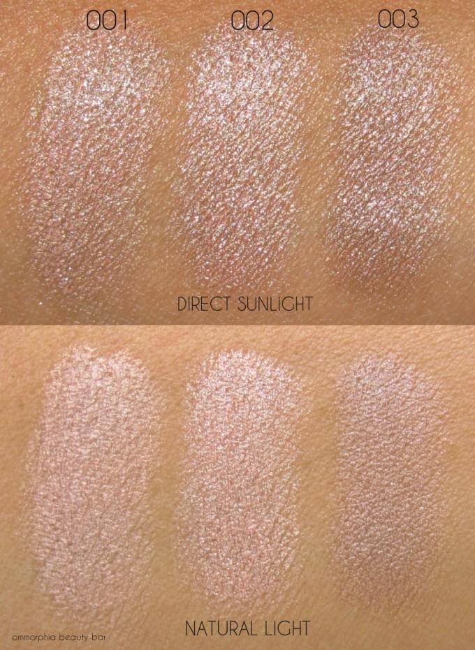 Dior Diorblush Light & Contour light trio swatches
