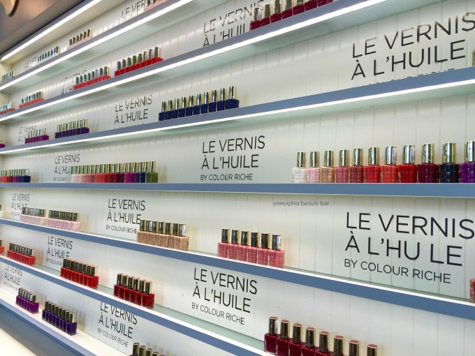 L'Oreal Vernis a L'Huile event opener