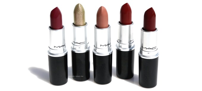 MAC It's A Strike lipsticks