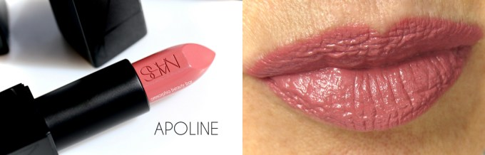 NARS Chic Out Apoline macro & swatch