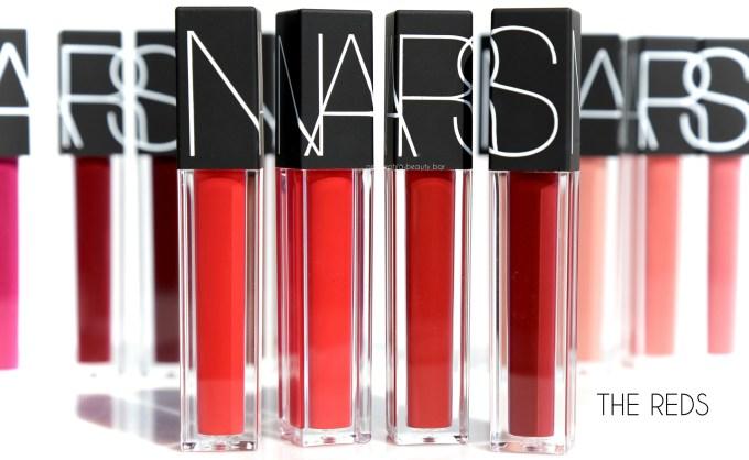 NARS Velvet Lip Glide The Reds