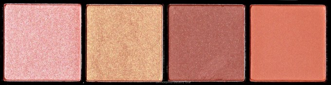 NYX Sweet Cheeks Blush Palette top row
