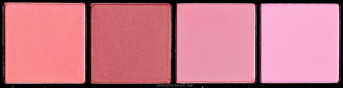 NYX Swet CHeeks Blush Palette bottom row