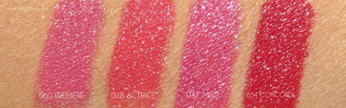 Dior Rouge Dior arm swatches 1