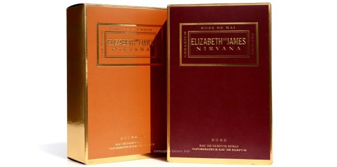 Elizabeth & James Nirvana Rose and Bourbon boxed