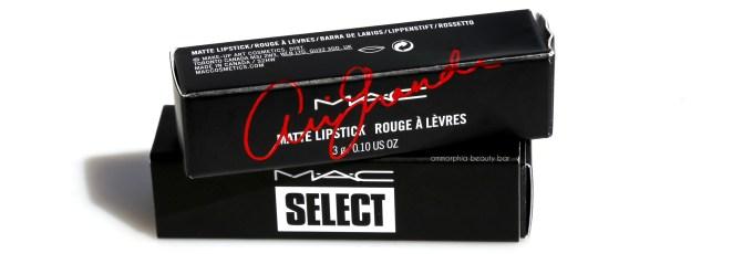 MAC So Select & VG Ariana Grande 2 packaging