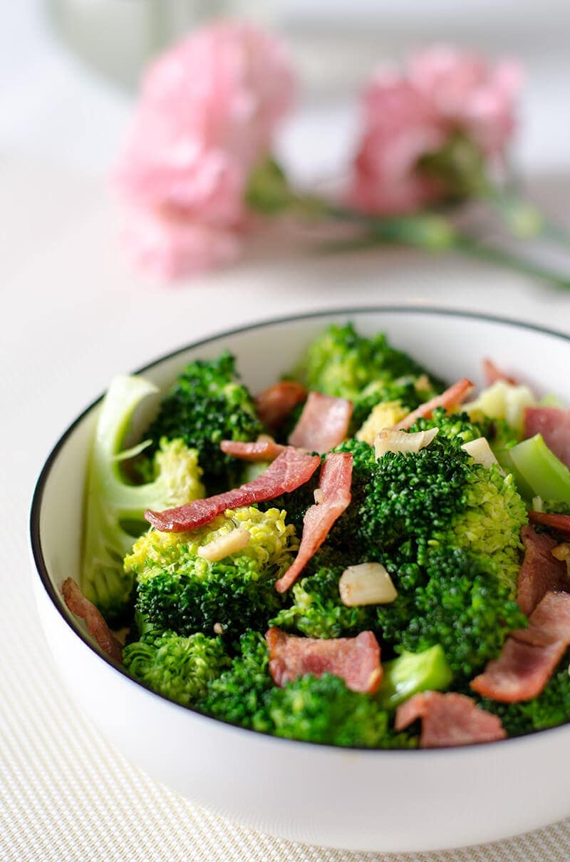 Broccoli Bacon Stir-Fry | Omnivore's Cookbook