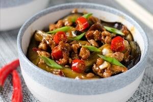Szechuan Spicy Eggplant (鱼香茄子)