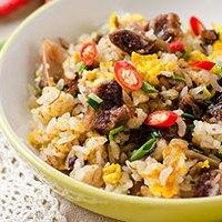 Mongolian Beef Fried Rice