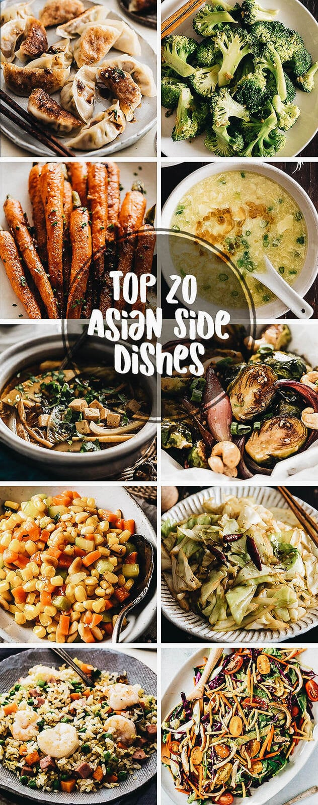 Classic Table Side Dishes 20 Quick And Easy Asian Side Dishes Omnivore S Cookbook
