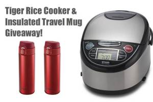 Tiger Rice Cooker and Travel Bottle Giveaway