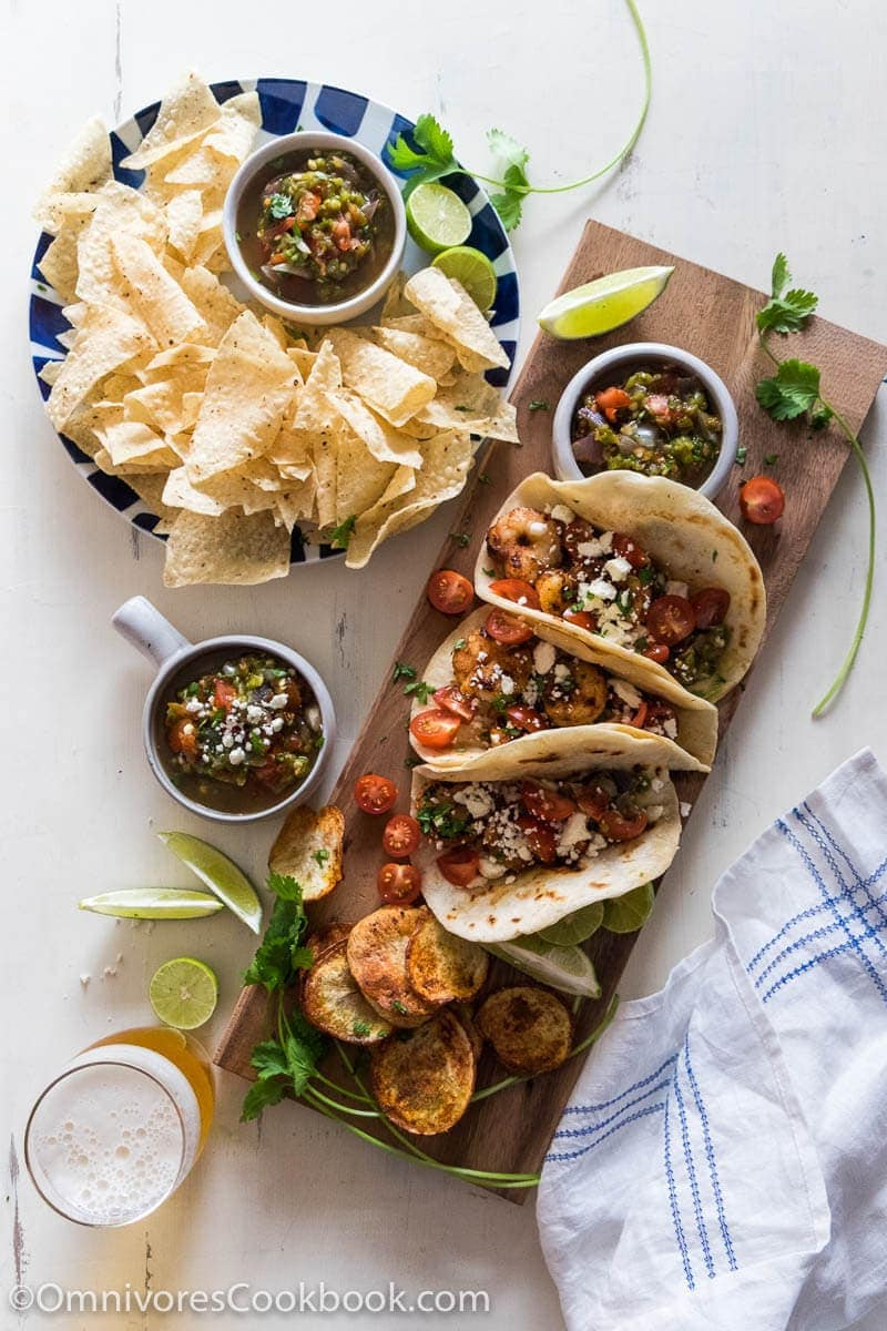 Nam Prik Num – A heavenly smoky and flavorful salsa that makes a perfect dip, tacos sauce, noodle toppings, or stir-fry condiment.