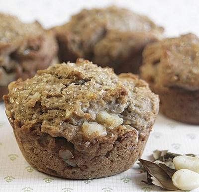 Gluten-Free Lemon Myrtle Macadamia Muffins