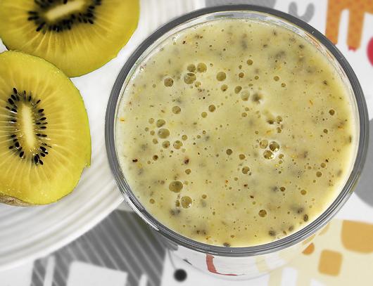 Golden Kiwi Almond Shake